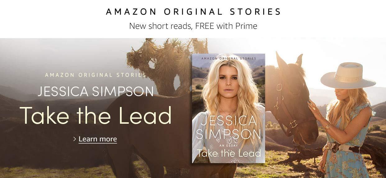 Take the Lead by Jessica Simpson | Amazon Original Stories