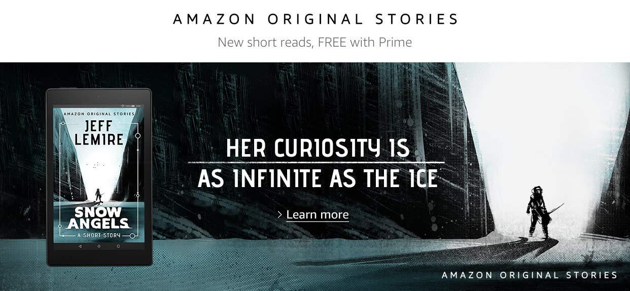Snow Angels by Jeff Lemire | Amazon Original Stories