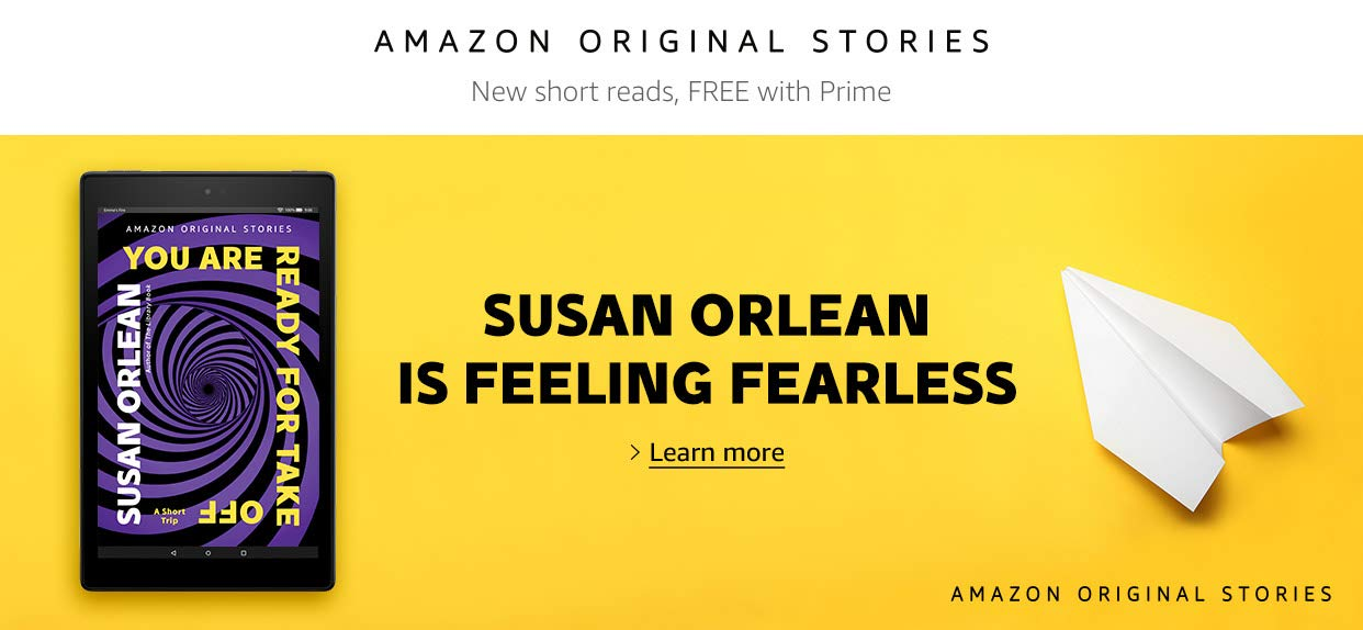 You Are Ready For Takeoff by Susan Orlean | Amazon Original Stories