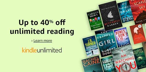 Share a Deals Post: Up to 40% off Kindle Unlimited prepaid plans