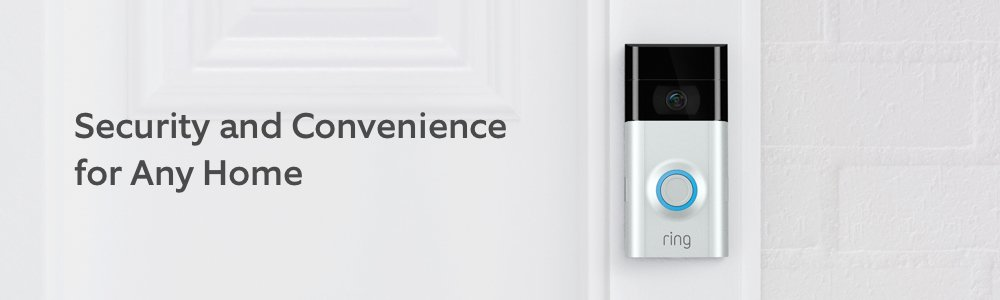 Ring Video Doorbell 2 Security and convenience for any home