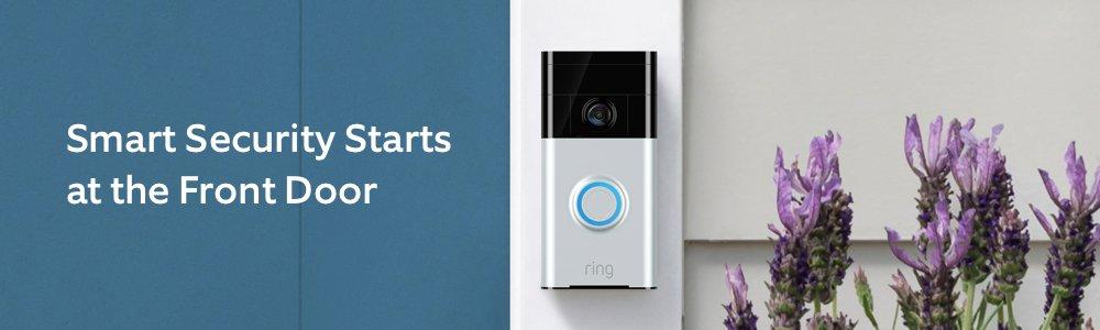 Wi Fi Enabled HD Video Doorbell 2 Way Audio Noise Cancellation Venetian Bronze