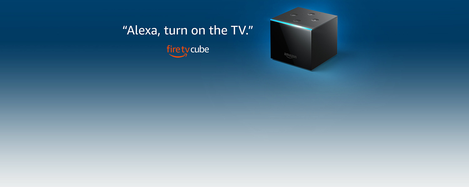 Alexa, turn on the TV. | Fire TV Cube