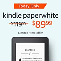 Today Only: $30 off Kindle Paperwhite