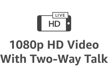1080p HD Video With Two-Way Talk
