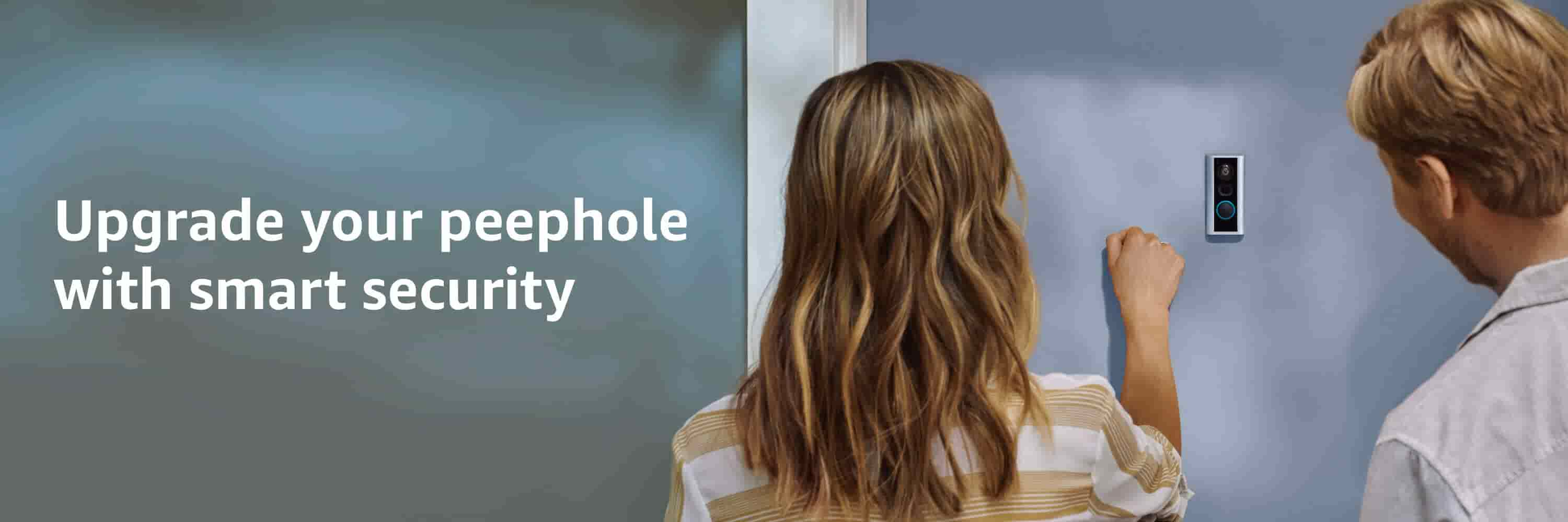 Upgrade your peephole with smart security