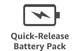Quick-Release Battery Pack
