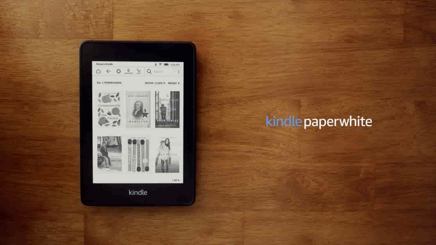 Meet the all-new Kindle Paperwhite