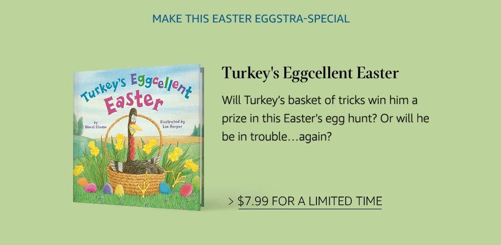 Turkey's Eggcellent Easter | Bonus Offer
