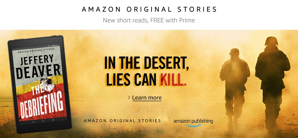 The Debriefing | Amazon Original Stories | Learn more