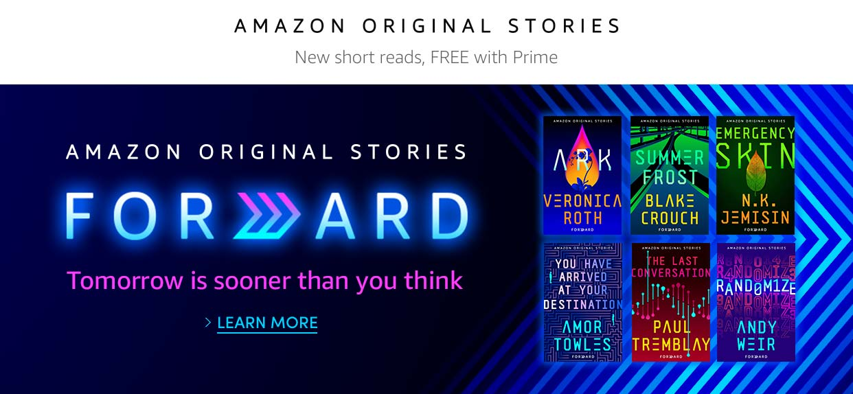 Forward Collection | Amazon Original Stories | Learn more