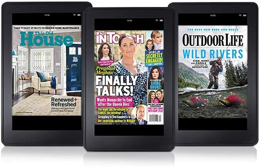 Today only! Get digital magazine subscriptions from $0.99