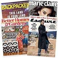 Starting at $3.75: Choose from 25+ best-selling print magazines
