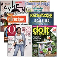 Starting at $3.75: Choose from 30+ best-selling print magazines