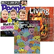 Amazon #DealOfTheDay: Starting at $5: Choose from 10+ print magazine subscriptions