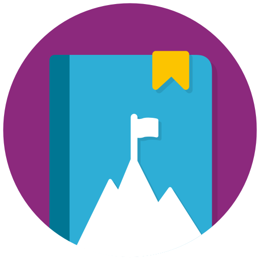 Mountain Vacation Icon