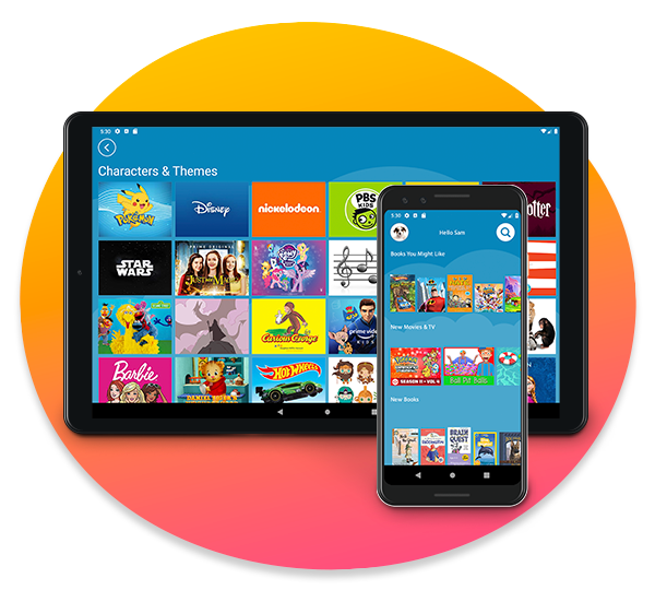 Amazon Kids+ on Android