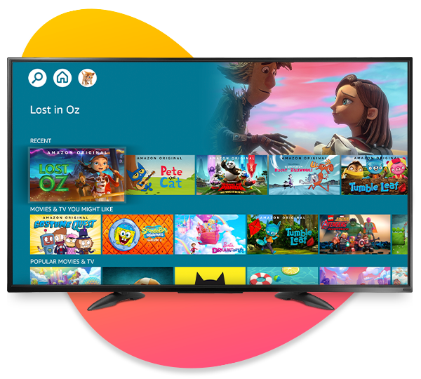 Amazon Kids+ on Fire TV
