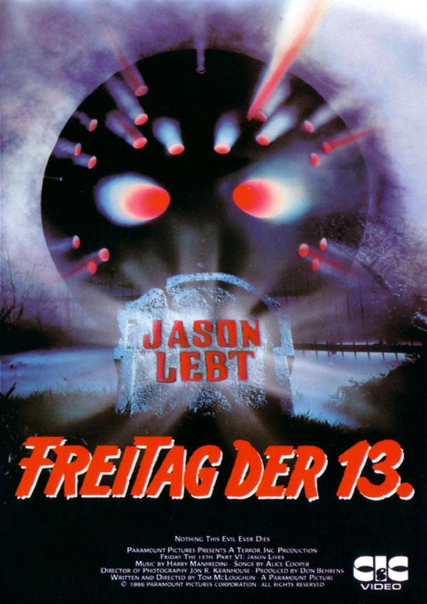 Freitag der 13. Teil VI - Jason lebt