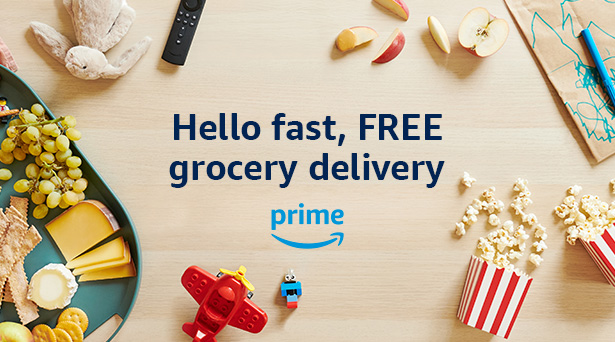 Amazon Fresh is now FREE with Prime