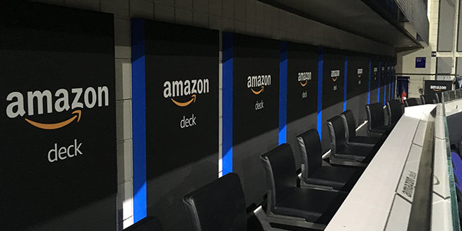 Amazon Deck at The O2