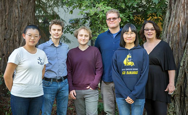 University of California, Santa Cruz Alexa Prize team