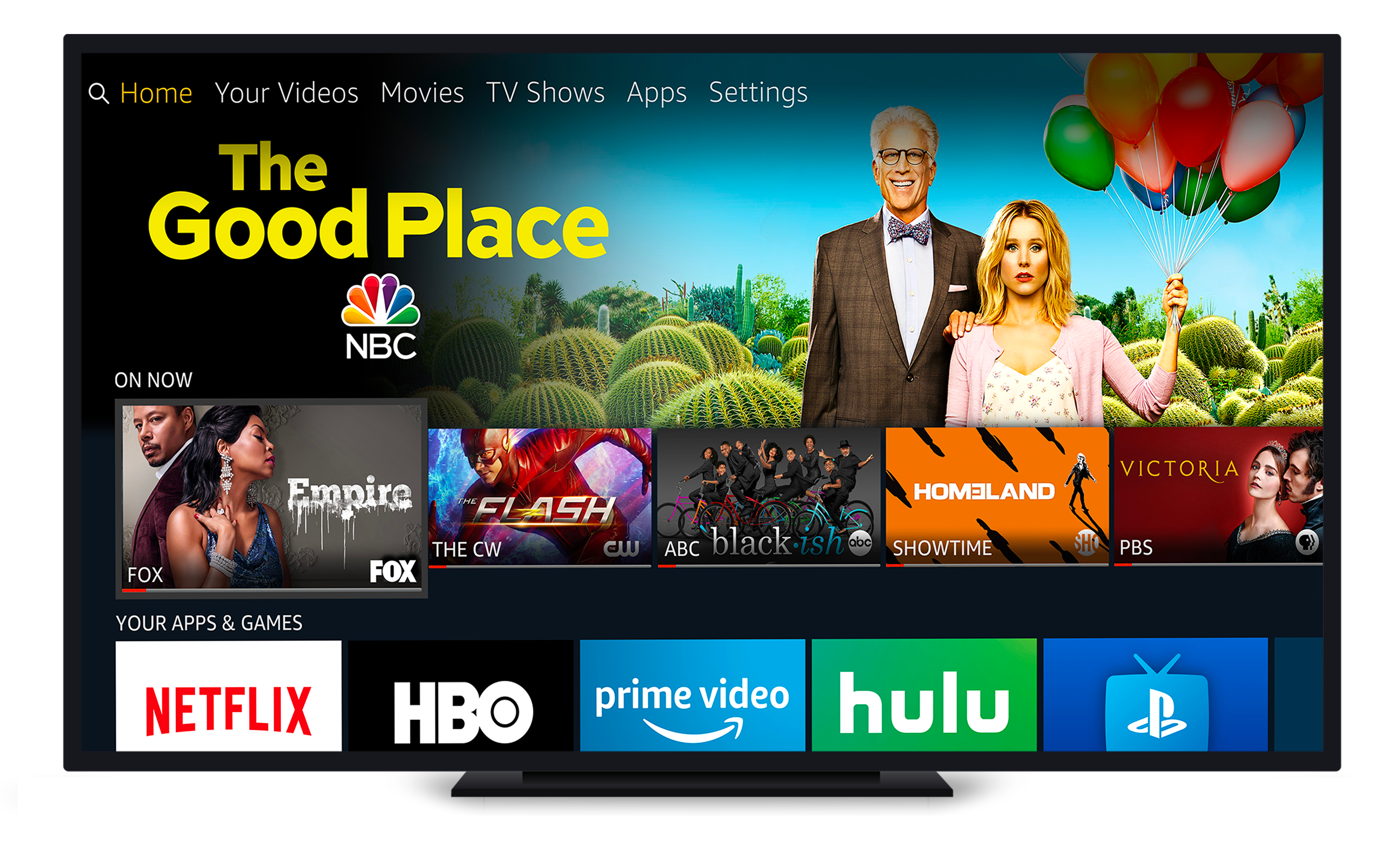 Image of Alexa-enabled television