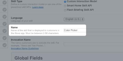Node.js - Alexa Skills Quick Start