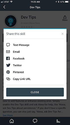 How to Share Your Skills Using the Alexa App : Alexa Blogs