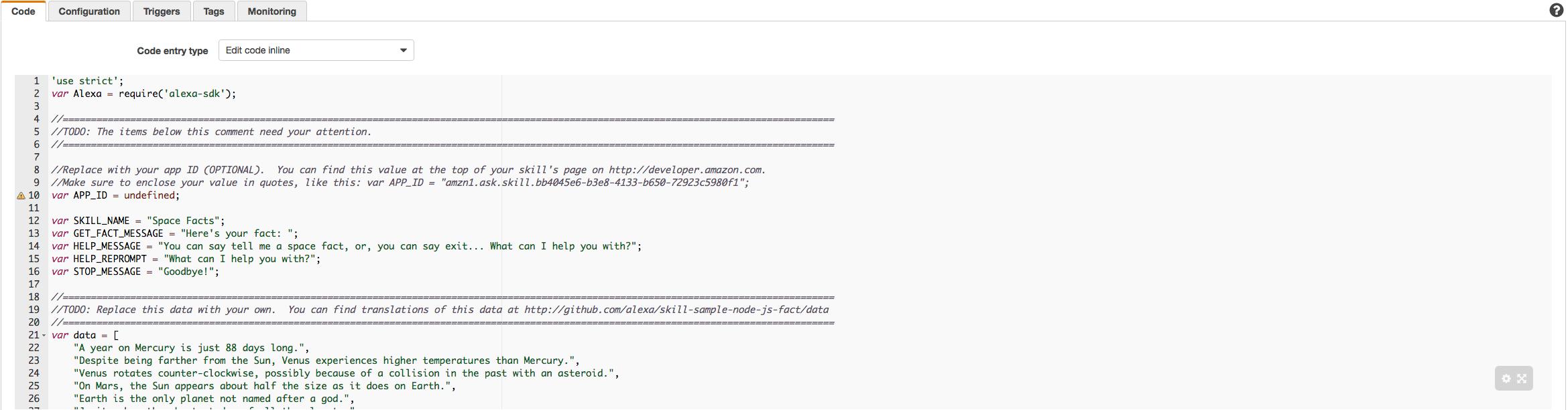 Lambda Code Box