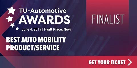 TU-Automotive Awards Finalist