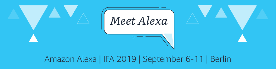 Amazon Alexa at IFA 2019