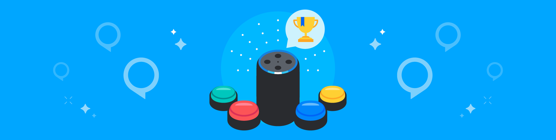Echo Buttons Game Skills Contest