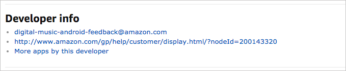 Manage Your Amazon Developer Account and Permissions | Appstore