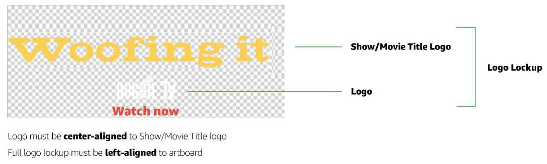 フィーチャーローテーターのロゴの配置ガイドライン