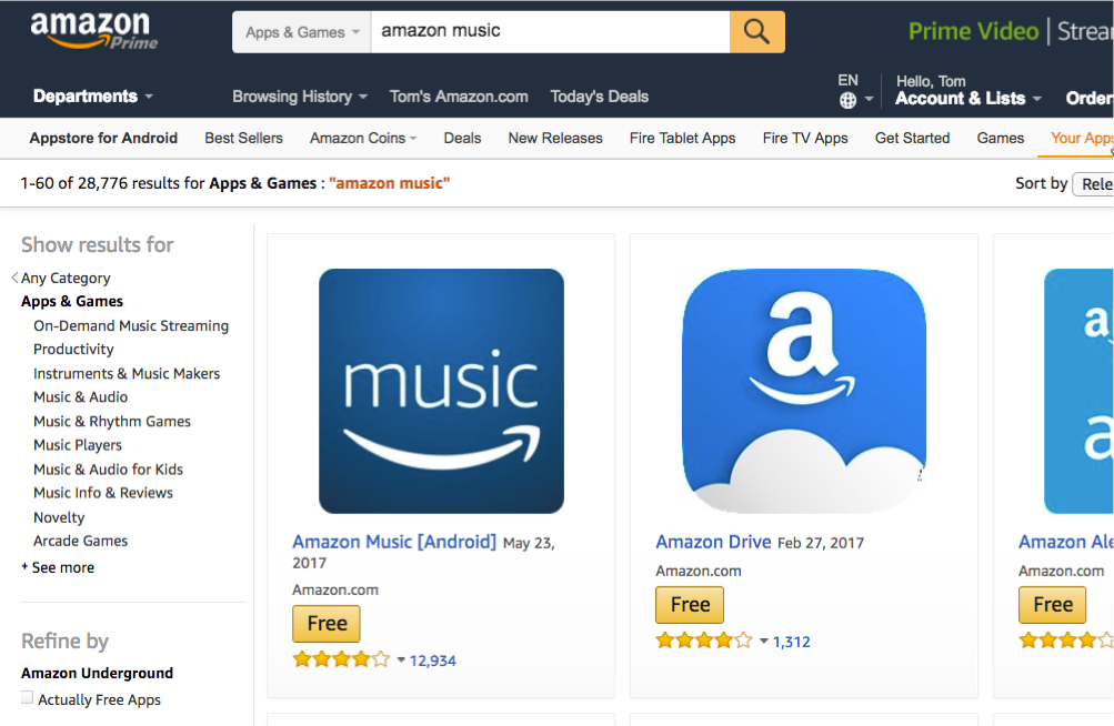 Sample small icon (114px x 114px) as it appears in Amazon Appstore website