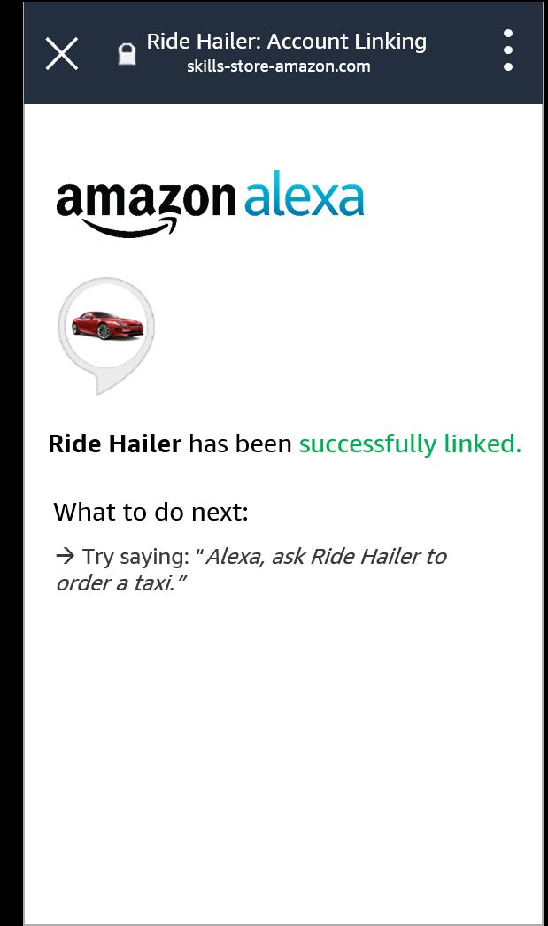 Alexaアカウントリンク