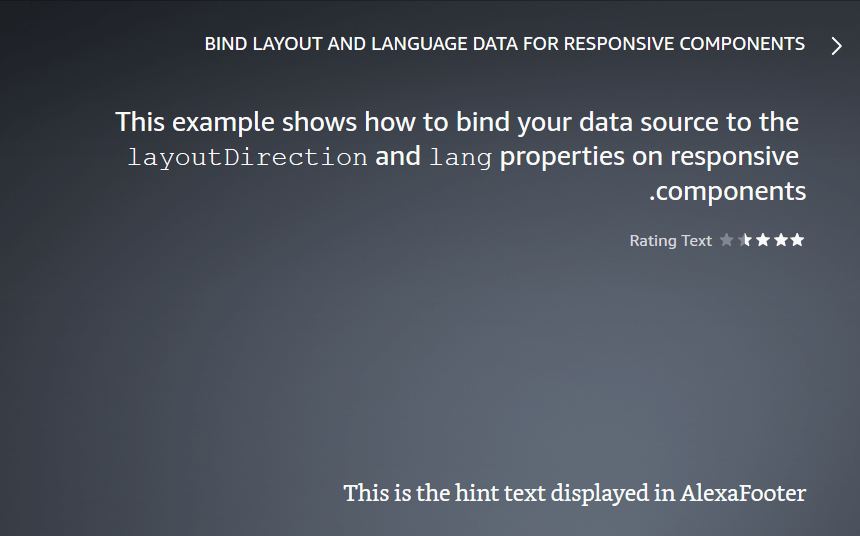 Result when layoutDirection is 'RTL' and lang is 'ar-SA'