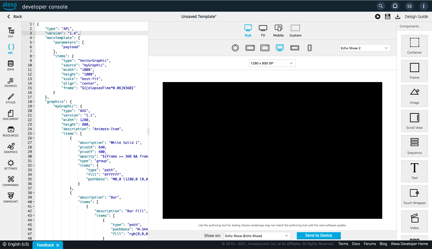 Unexpected blank screen after a successful conversion