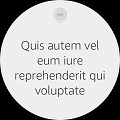 Echo Spot Body Text Without Hint