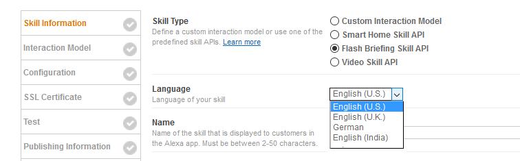 Skill Information