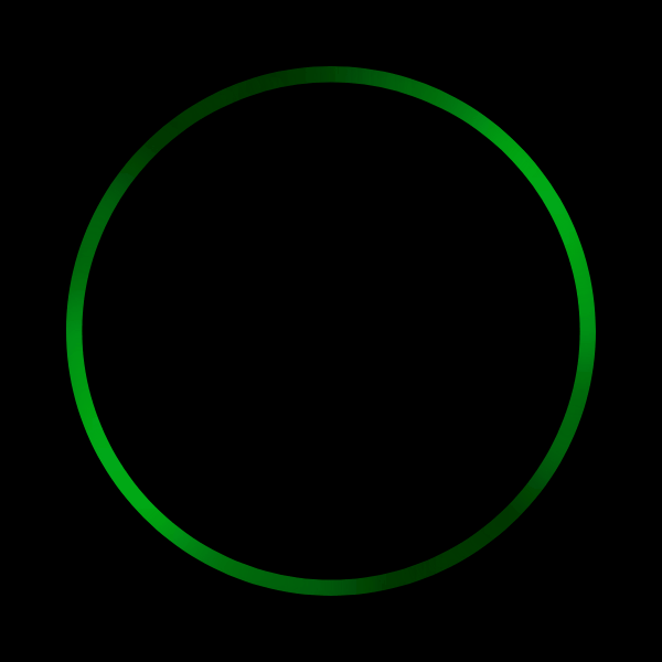 Alexa Attention State: Multicolor LEDs - Radial: Incoming Call