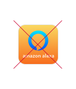 Amazon Alexa logo don'ts