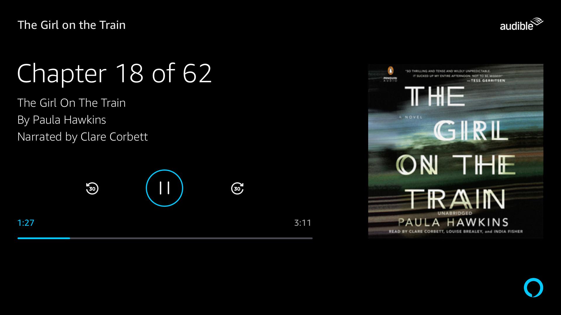 Alexa Display Cards for TV: NowPlaying Amazon Music
