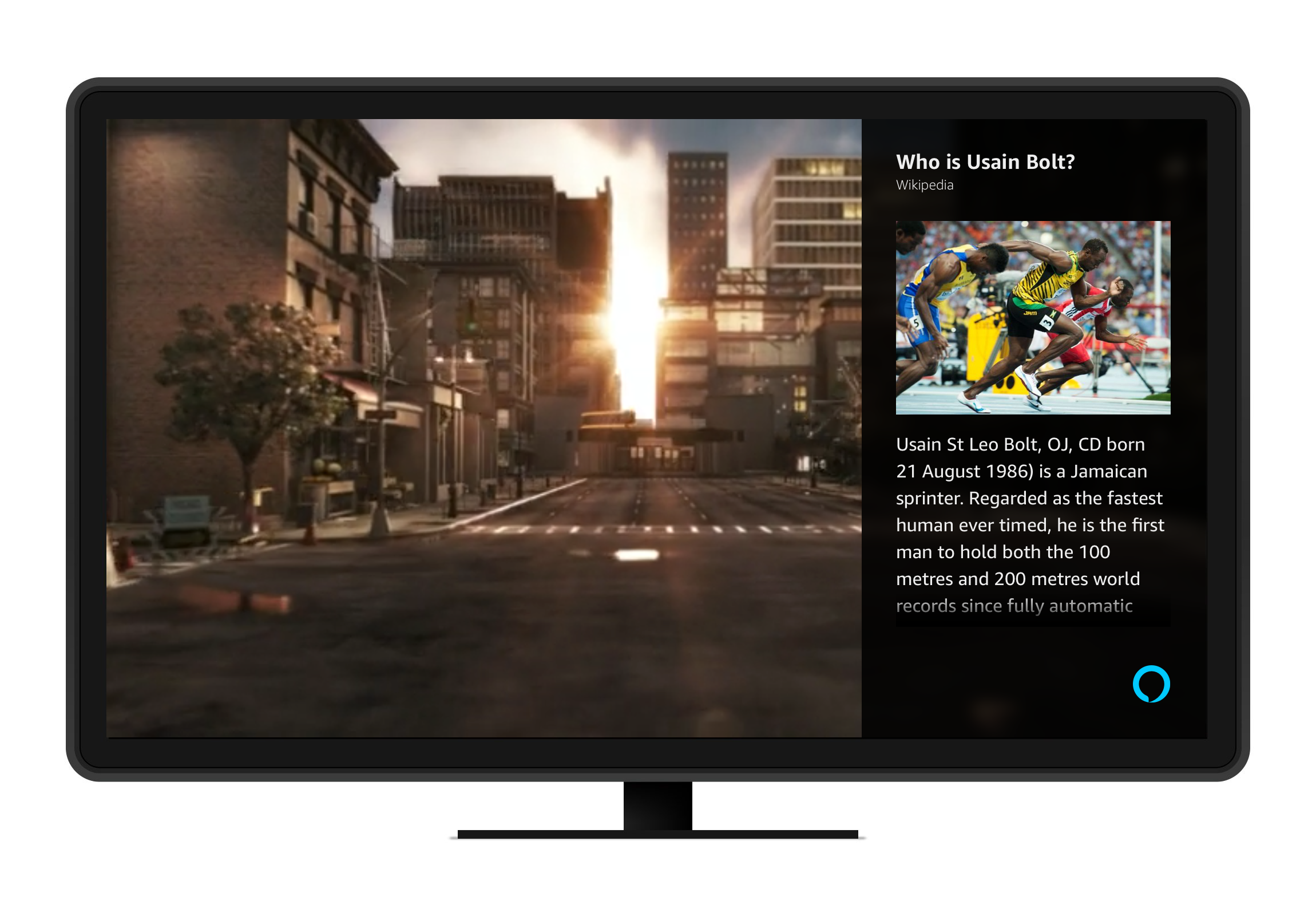 AVS Display Cards for TV | Alexa Voice Service