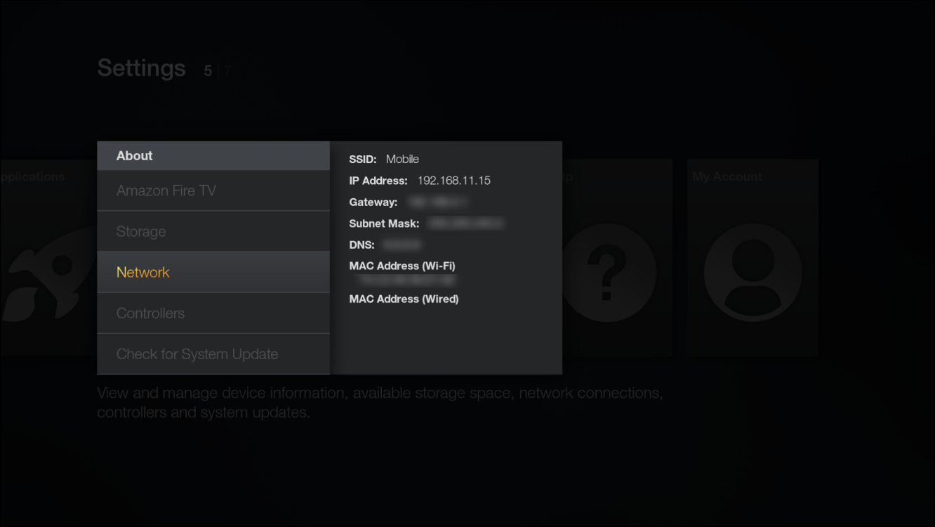Enter your IP address of your Fire TV.