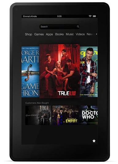 Kindle Fire(2011、第1世代)
