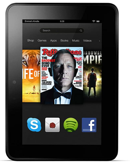 Kindle Fire(2012、第2世代)