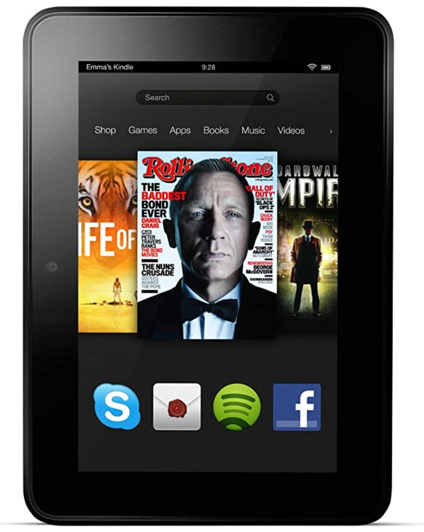 Kindle Fire HD 7(2012、第2世代)