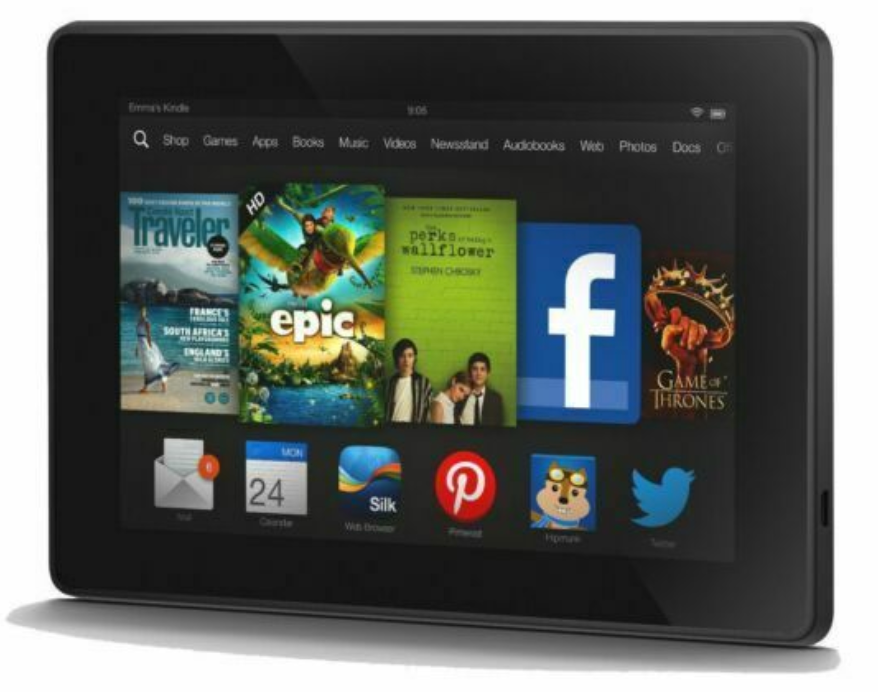 Kindle Fire HD(2013、第3世代)
